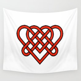 Celtic He Loves Me He Loves Me Knot Wall Tapestry