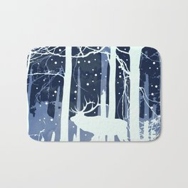 Winter is here Bath Mat