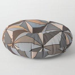Triangle pattern 3d Floor Pillow