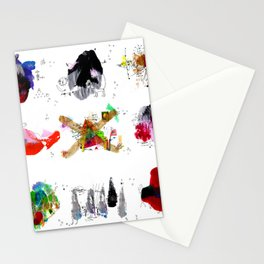 9 abstract rituals Stationery Cards