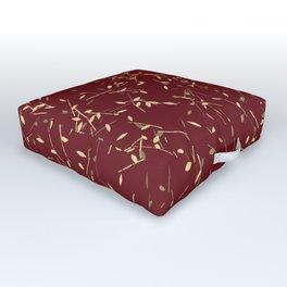 Golden Twigs Outdoor Floor Cushion