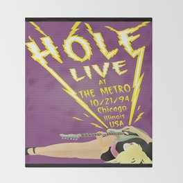 Hole Live Throw Blanket
