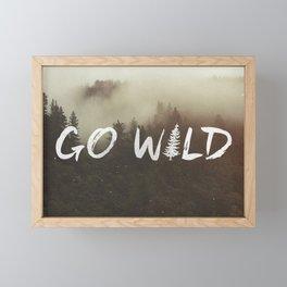 Go Wild Framed Mini Art Print