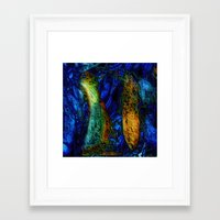pi Framed Art Prints featuring PI by RingWaveArt