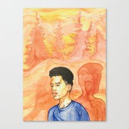 A Stranger Canvas Print