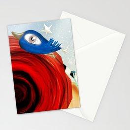 Un placer coincidir en esta vida Stationery Cards