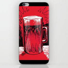 Beer_Red iPhone Skin