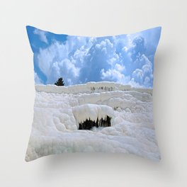 Pamukkale, Turkey Throw Pillow