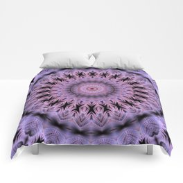 Mandala with tiny folding Comforters