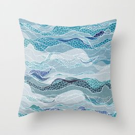 Sail Away With Me Throw Pillow