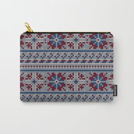 Pattern in Grandma Style #18 Carry-All Pouch