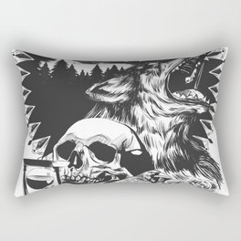 The Cycle Of Death Rectangular Pillow