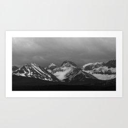 British Columbia Rocky Mountains Art Print