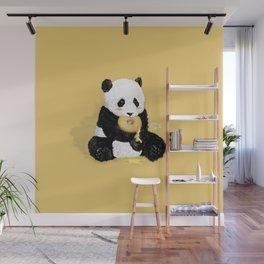 Little Panda Wall Mural