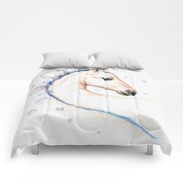 Horse Bubbles Comforters