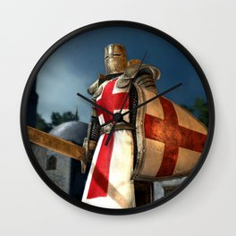 England Soldier   Wall Clock
