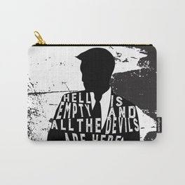 Shatter Me - Hell Is Empty Carry-All Pouch