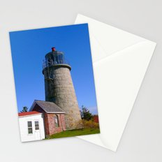 Monhegan Island Lighthouse  Stationery Cards