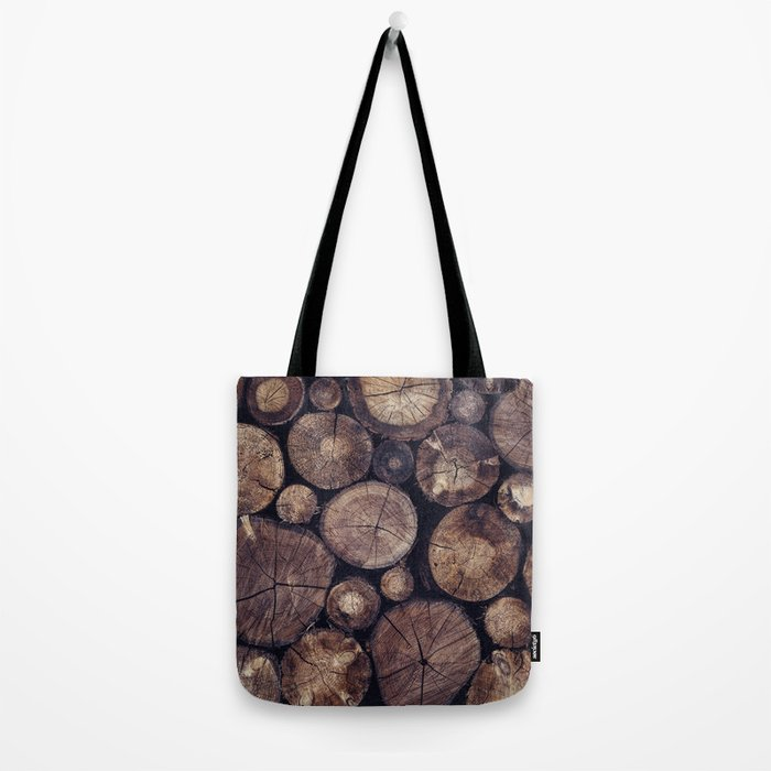 The Wood Holds Many Spirits // You Can Ask Them Now Edit Tote Bag