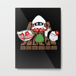 Super Blooper Sushi is what's for dinner Metal Print