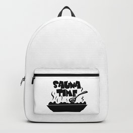 Sauna Time Backpack