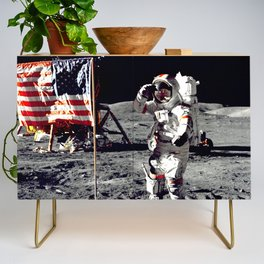 Salute on the Moon Credenza