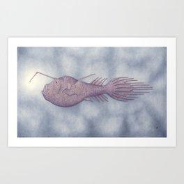 Deep Sea Anglerfish, C. holboelli Art Print