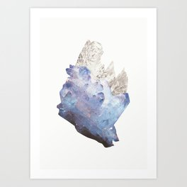 Crystalize III Art Print