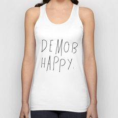 Demob Happy Unisex Tank Top