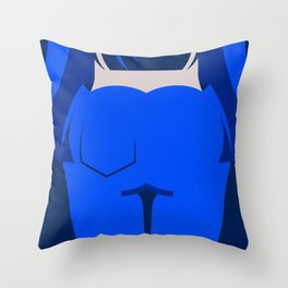 Blue jeans 1/3 Throw Pillow