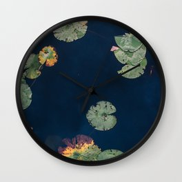 Lilly Pads Wall Clock