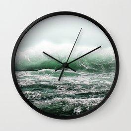 EMERALD SEA Wall Clock