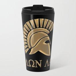 Molon lave-Spartan Warrior Travel Mug