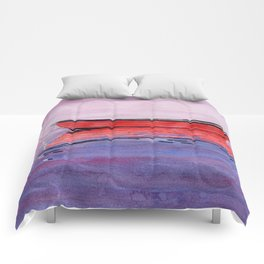 Red Dory Reflections Comforters