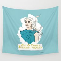 danny haas Wall Tapestries featuring Danny by JessicaJaneIllustration