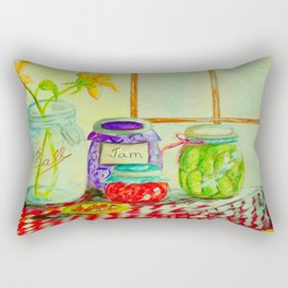 Kitchen Light Dancing Rectangular Pillow