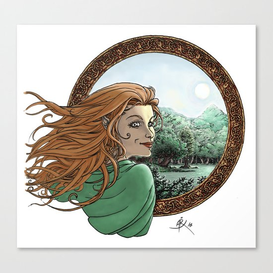 Elfic Canvas Print