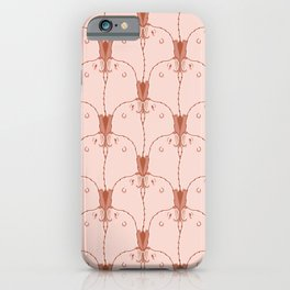 Kissing Eared Seal Pattern iPhone Case