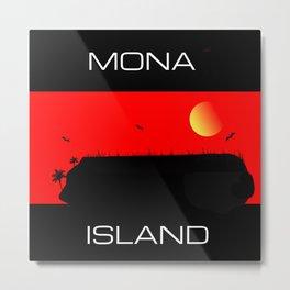 Mona Island Metal Print
