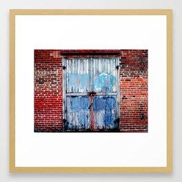 tattered 2 Framed Art Print