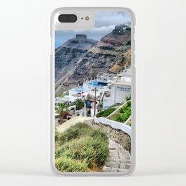 Santorini 3 Clear iPhone Case