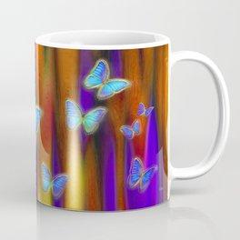 Silken Wings, Rainbow. Coffee Mug