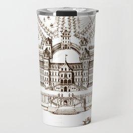 Castle old vintage Travel Mug