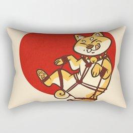 Shibari Inu Rectangular Pillow