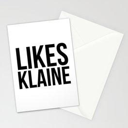 Likes Klaine Stationery Cards