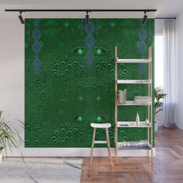 Dragon abstracte skin pattern Wall Mural