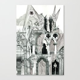Piazza San Marco  Canvas Print