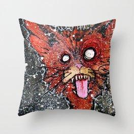 William the Cat Throw Pillow
