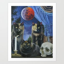 The Conjuring of Three Art Print