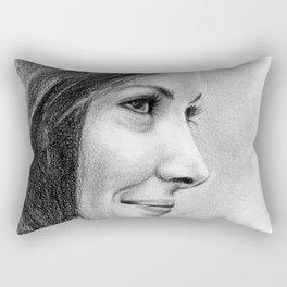 Evangeline Lilly Rectangular Pillow